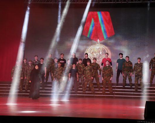ополченцы и солдаты 100-летие ДАССР